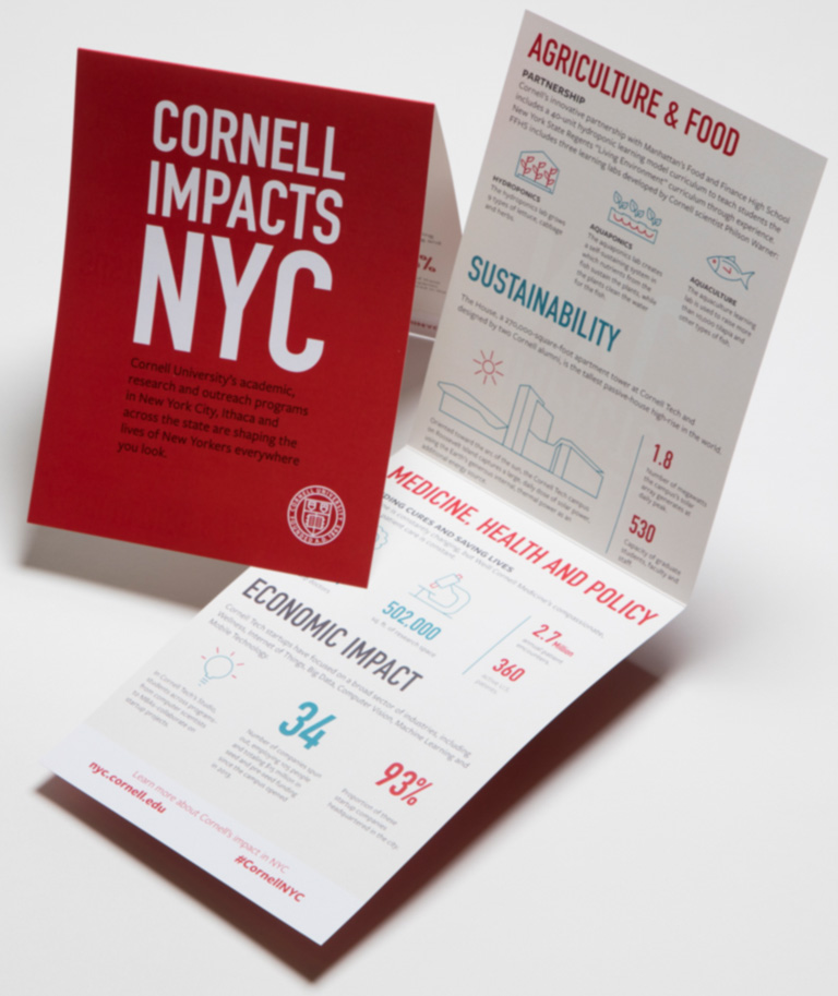 Cornell in NYC | Impact handout